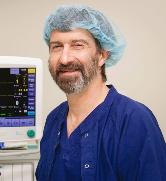 Dr John Campbell at Frankston Anaesthetic Services
