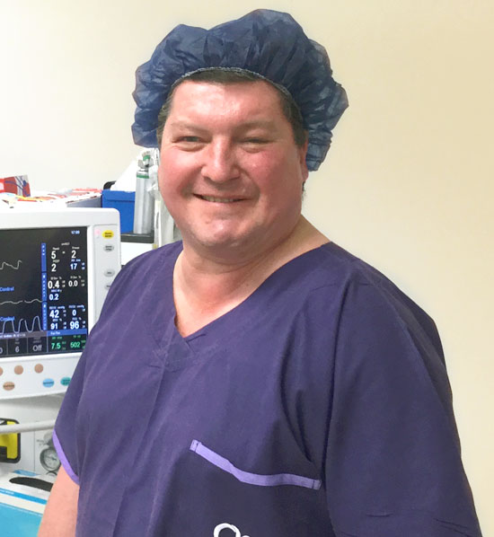 Dr Sion Davies at Frankston Anaesthetic Services