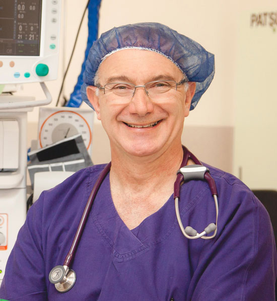 Dr David Henry at Frankston Anaesthetic Services