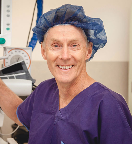 Dr Frank Whitton at Frankston Anaesthetic Services