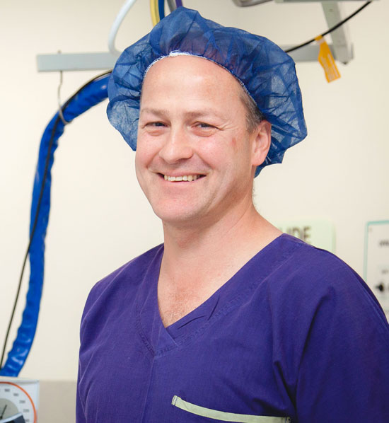 Dr James Pedley at Frankston Anaesthetic Services